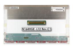 Gyári új matt 16.4'' Full HD (1920x1080) LED kijelző Sony Vaio PCG-81313M laptophoz (csatlakozó: 40 pin - bal)