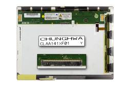 ChungHwa CLAA141XF01 14,1 inch CCFL XGA 1024x768 használt matt laptop kijelző