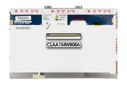 Chunghwa CLAA154WB08A 15,4 inch CCFL WXGA 1280x800 használt fényes laptop kijelző