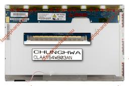 Chunghwa CLAA154WB03AN 15,4 inch CCFL WXGA 1280x800 használt fényes C kategória laptop kijelző
