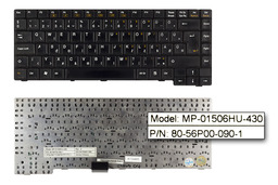 Clevo D400, D400E, D400S használt magyar laptop billentyűzet (MP-01506HU-430)