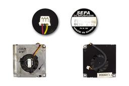 Clevo D9T, D900T, D9000T használt laptop VGA hűtő ventilátor (HY55A-05A-801)