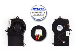 Clevo M4A, M40A, M400A hasznalt laptop hűtő ventilátor (31-M40AS-110, BS5005MB11-I)