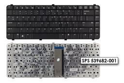 Compaq 510, 511, 515, 516, 610, 615 gyári új US angol laptop billentyűzet, 539682-001