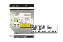 Compaq evo n1015v, n1020v Presario 900, 1500 laptophoz használt Hitachi-LG GCC-4240N IDE CD-író DVD olvasó combo (SPS 311627-001)