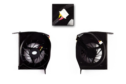 Compaq Presario F500, F700, HP G6000 gyári új laptop hűtő ventilátor 1 levegő nyílásos (AB7305HX-DBB)