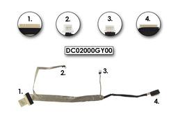 Compaq Presario C700 laptophoz gyári új LCD kábel, DC02000GY00