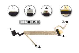 Compaq Presario CQ40, CQ45 gyári új laptop LCD kijelző kábel (DC02000IS00)
