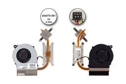 Compaq Presario CQ42, HP G42 laptopokhoz használt komplett hűtés (606573-001)
