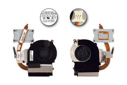 Compaq Presario CQ43, CQ57, HP 2000, 630 gyári új komplett laptop hűtés (646180-001, DFS551005M30T, FADL)