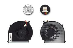 Compaq Presario CQ43, CQ57, HP G43, G57 gyári új laptop hűtő ventilátor, 646181-001, 646183-001