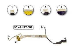Compaq Presario CQ60, HP G60 laptophoz használt Kijelző kábel (50.4AH19.002)