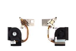 Compaq Presario CQ61,CQ61-100,HP G61-100 laptophoz használt komplett hűtő ventilátor egység (532605-001)