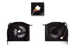 Compaq Presario F500, F700, HP G6000 gyári új laptop hűtő ventilátor 1 levegő nyílásos (AB7305HF-DBB)