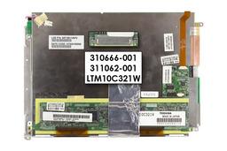 Compaq tc1000 laptop használt Kijelző, 310666-001, 311062-001, LTM10C321W