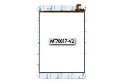 Érintő panel, touchscreen (fehér) ConCorde Tab SLIM tablethez (MT70817-V2)