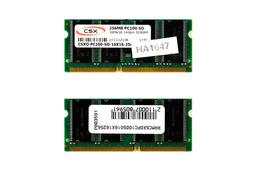 CSX 256MB SDRAM 100MHz 16Mx16 gyári új laptop memória