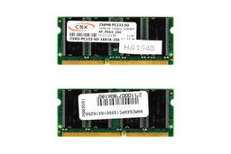 CSX 256MB SDRAM 133MHz 16Mx16 gyári új laptop memória
