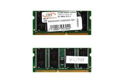 CSX 512MB SDRAM 133MHz 32Mx16  gyári új laptop memória