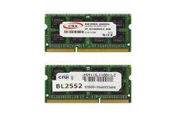 CSX 8GB DDR3L 1600MHz gyári új low voltage memóra Apple laptopokhoz
