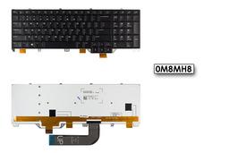 Dell Alienware M17, M18 gyári új US angol háttér világításos laptop billentyűzet, 0M8MH8, 04H8N6