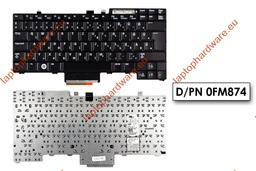 Dell E5510, E6410, E6510 használt magyar laptop billentyűzet (DP/N 0FM874)