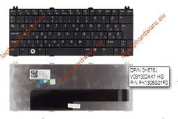 Dell Inspiron 1210, Mini 12 használt magyar fekete laptop billentyűzet (0H576J)