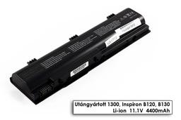 Dell Inspiron 1300, B120, Latitude 120L helyettesítő új 6 cellás laptop akku/akkumulátor (0XD184)