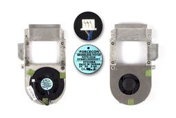 Dell Inspiron 1300 gyári új komplett laptop hűtő ventilátor egység (60.4D923.001)