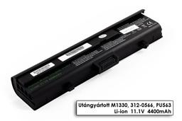 Dell Inspiron 1318, XPS M1330 helyettesítő új 6 cellás laptop akku/akkumulátor (PU563)