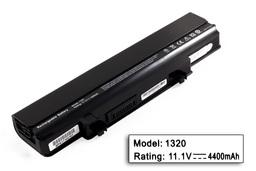 Dell Inspiron 1320, 1320n helyettesítő új 6 cellás laptop akku/akkumulátor (F136T)