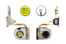 Dell Inspiron 15 N5040, Vostro 1540 gyári új laptop hűtő modul (0Y2JM0, Y2JM0, YFWP9, 0YWFP9)