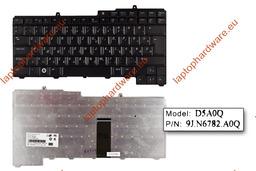Dell Inspiron 1501, 6400, 9400 használt magyar laptop billentyűzet,NSK-D5A0Q, DPN 0XD985