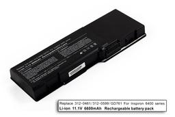 Dell Inspiron 1501, Latitude 131L, Vostro 1000 használt 100%-os 9 cellás laptop akku/akkumulátor (GD761)