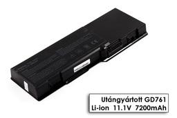 Dell Inspiron 1501, Latitude 131L, Vostro 1000 használt 30%-os 9 cellás laptop akku/akkumulátor (GD761)