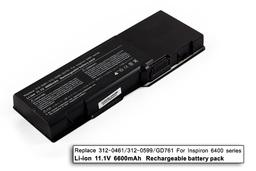 Dell Inspiron 1501, Latitude 131L, Vostro 1000 használt 50%-os 9 cellás laptop akku/akkumulátor (GD761)