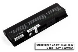 Dell Inspiron 1520, 1720, Vostro 1700 helyettesítő új 9 cellás laptop akku/akkumulátor (GK479)