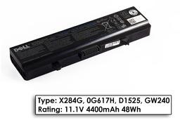 Dell Inspiron 1525, 1526, 1545 50%-os használt  6 cellás laptop akku/akkumulátor (X284G, 0G617H)