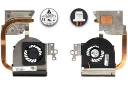 Dell Inspiron 15R M5110, N5110 használt laptop komplett hűtő ventilátor egység (UMA) (0RF2M7, KSB0505HA-AJ1F)