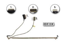 Dell Inspiron 15R (5521), 15 (3521), M531R (5535) laptophoz gyári új LCD- és webkamera kábel (0DR1KW, DR1KW)