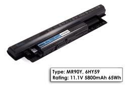 Dell Inspiron 3537 laptop akkumulátor, gyári új,   cellás (5640-5800mAh)