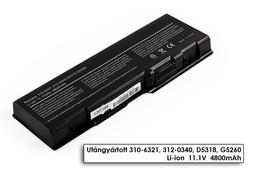 Dell Inspiron 6000, 9200, 9300 helyettesítő új 6 cellás laptop akku/akkumulátor (D5318)