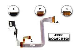 Dell Inspiron 8100,8200 laptophoz használt 15 inches LCD kábel(4X308,DC025049100)