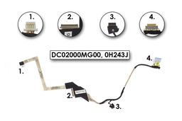 Dell Inspiron 910, Mini 9, 910 Használt LCD átvezető kábel, LCD cable, DC02000MG00