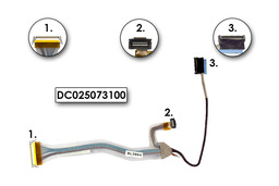 Dell Inspiron 9200, 9300, 9400 laptophoz használt LCD kábel (DC025073100)