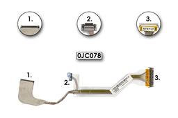Dell Inspiron E1405, 140M, 630M hazsnált laptop LCD kábel, 0JC078