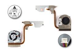 Dell Inspiron M5040 laptophoz használt komplett hűtő ventilátor egység (CN-0M61WG)