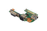 Dell Inspiron M511R (M5110) gyári új laptop DC/VGA/USB panel (MPH7J, 48.4IE06)