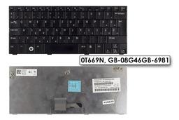 Dell Inspiron Mini 10, 10v, 1010, 1011 használt UK angol-teljesen magyarított laptop billentyűzet, 0T669N