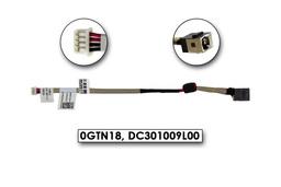 Dell Inspiron Mini 1012, 1017 gyári új laptop DC tápaljzat (0GTN18, DC301009L00)